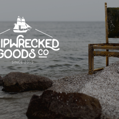 Ship wrecked goods logo design by josia.net