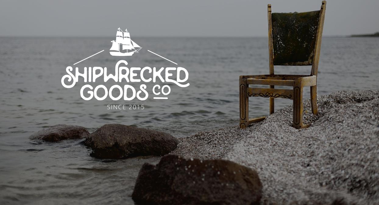 Ship wrecked goods logo design by josia.net