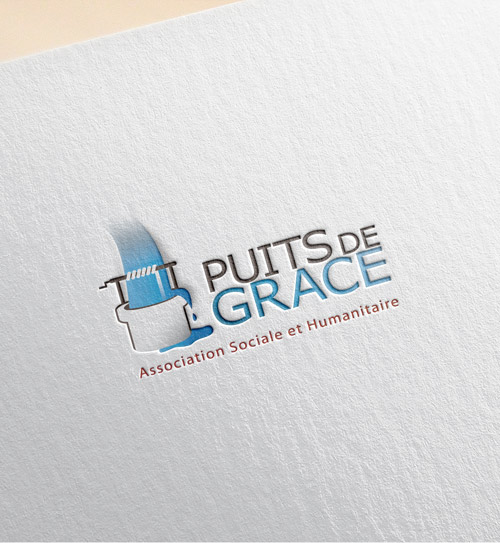 Puit de grace Logo design