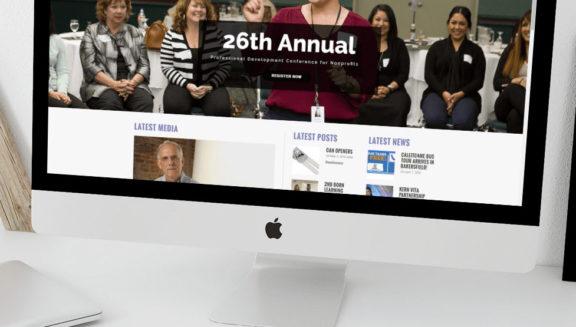United way kern website design