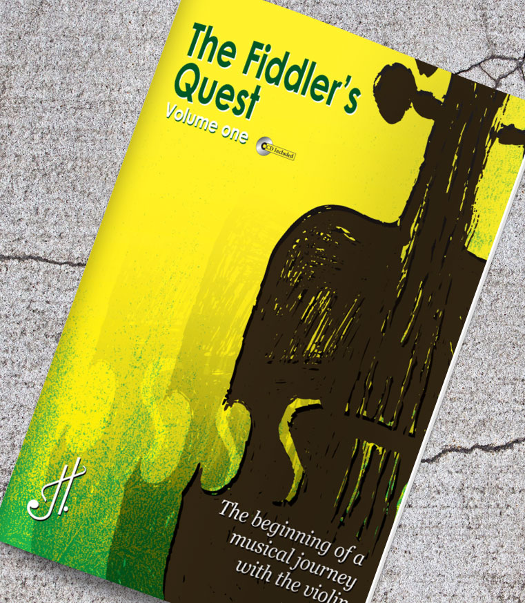 The Fiddler's Quest by Jason Theiste – book layout and design